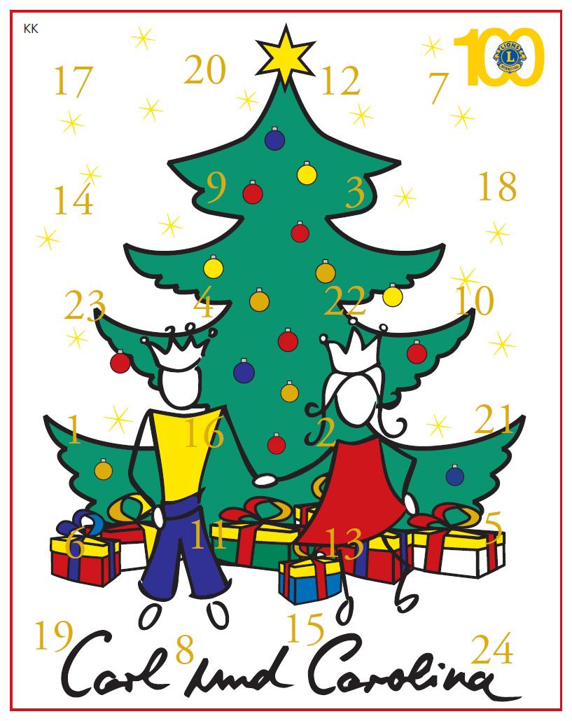 Kinderkalender-Carl-Carolina-2018