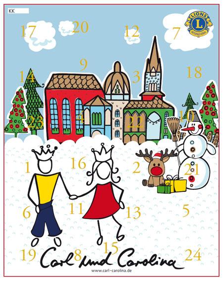 Weihnachtskalender 2019 Für Kinder.Adventskalender 2019 Carl Und Carolina